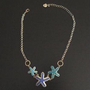 Betsey Johnson starfish necklace